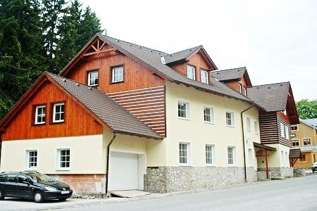 Ubytování v apartmánech v Peci pod Sněžkou v Krkonoších