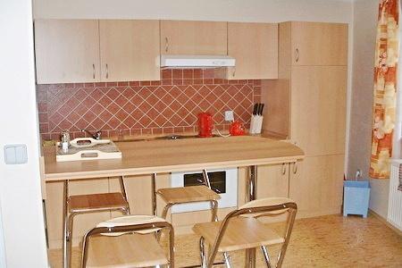 Ubytování na horách v apartmánech v Peci pod Sněžkou - kuchyňka